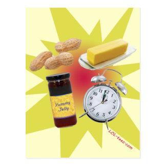 Peanut Butter Jelly Time! Postcard