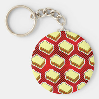 Peanut Butter Jelly Time - Strawberry Jelly Keychain