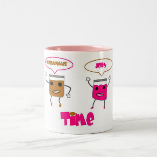 Peanut butter jelly TIME Two-Tone Coffee Mug