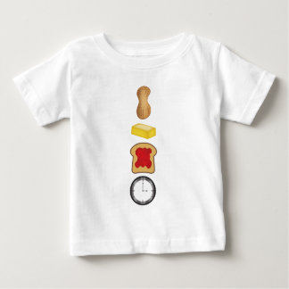 Peanut Butter Jelly Time Vertical Baby T-Shirt