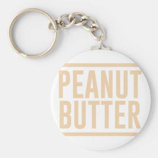 Peanut Butter Keychain