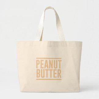 Peanut Butter Large Tote Bag