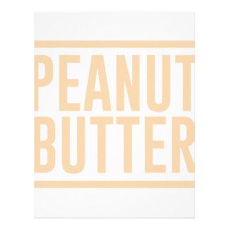 Peanut Butter Letterhead