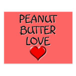 Peanut Butter Love Postcards
