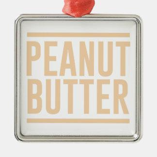 Peanut Butter Metal Ornament