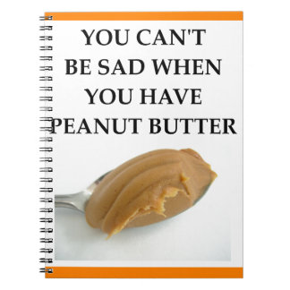 PEANUT BUTTER NOTEBOOK