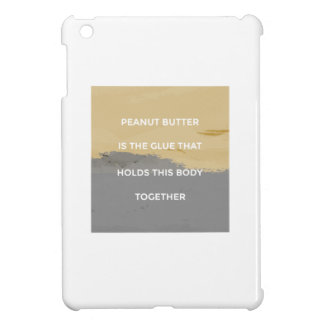 Peanut Butter Rules iPad Mini Case