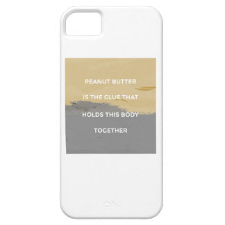 Peanut Butter Rules iPhone 5 Cover