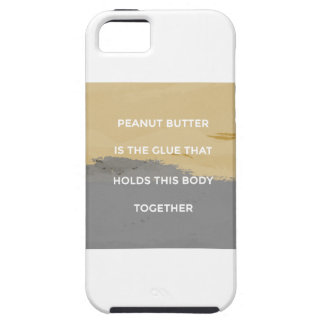 Peanut Butter Rules iPhone 5 Covers