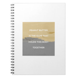 Peanut Butter Rules Notebook