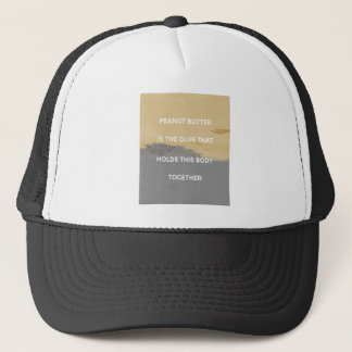 Peanut Butter Rules Trucker Hat