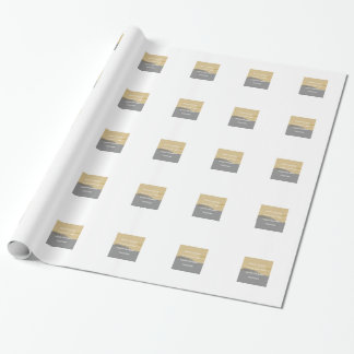 Peanut Butter Rules Wrapping Paper