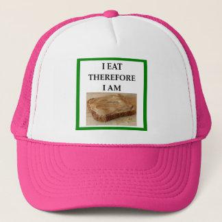 peanut butter trucker hat