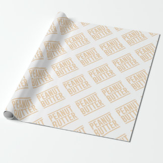 Peanut Butter Wrapping Paper