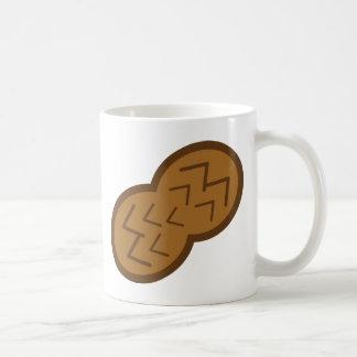 peanut classic white coffee mug
