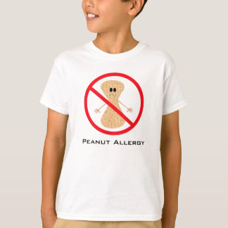 Peanut Free Allergy Shirt