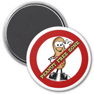 Peanut Free Zone Magnet