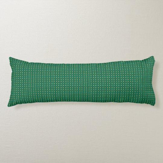 Peanut Green Designer Body Pillows