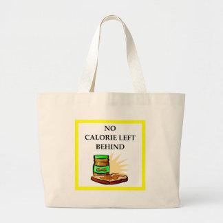 peanut large tote bag