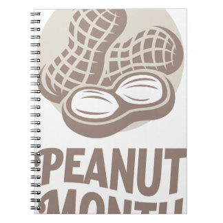 Peanut month - Appreciation Day Notebooks