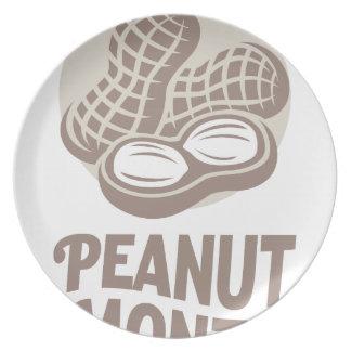 Peanut month - Appreciation Day Plate
