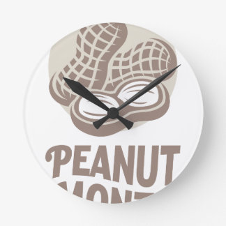 Peanut month - Appreciation Day Round Clock