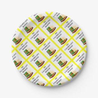peanut paper plate