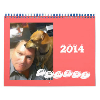 Peanut the Chiweenie Calendars
