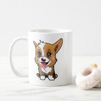 """Peanut"" the corgi Coffee Mug"