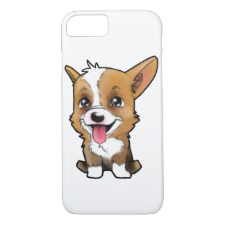 """Peanut the corgi"" for all the corgi lovers iPhone 8/7 Case"