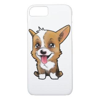 """""""Peanut the corgi"""" for all the corgi lovers iPhone 8/7 Case"""