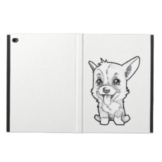 Peanut the corgi on Ipad to air 2 marries Powis iPad Air 2 Case