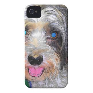 peanut the rescue dog Case-Mate iPhone 4 case