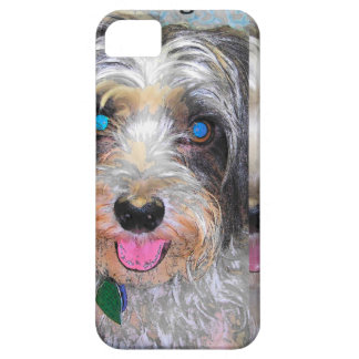 peanut the rescue dog iPhone 5 cover