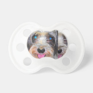 peanut the rescue dog pacifier