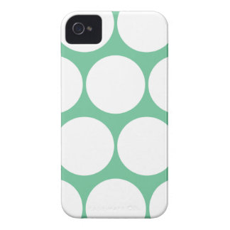 Peapod Green Large Polka Dot Iphone 4/4S Case