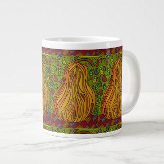 Pear Ajour Large Coffee Mug