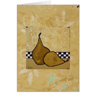 pear art card