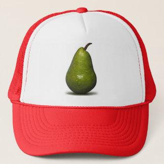 pear-bartlett trucker hat