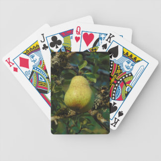 Pear Bicycle Playing Cards