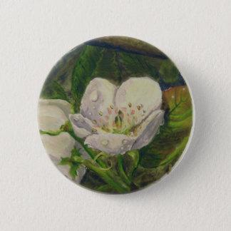 Pear Blossom Dream 2 Inch Round Button