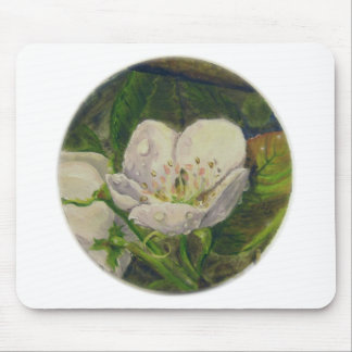 Pear Blossom Dream Mouse Pad