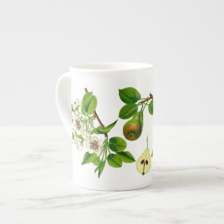 Pear Bone China Mug (You can customize)