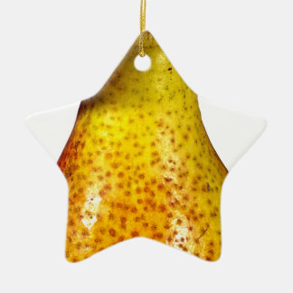 Pear Ceramic Ornament