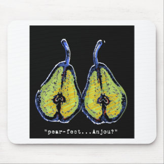 pear-fect-dark mouse pad