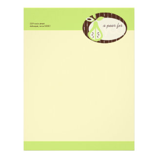 Pear For You Letterhead