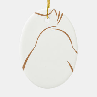 Pear Fruit Ceramic Ornament