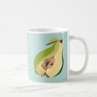 Pear fruit illustration coffee mug