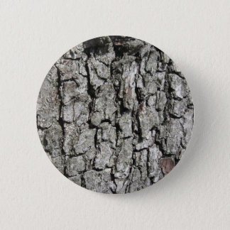 Pear tree bark texture background 2 inch round button