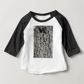 Pear tree bark texture background baby T-Shirt